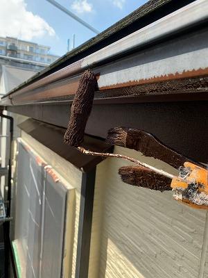 さいたま市大宮区 付帯塗装 樋