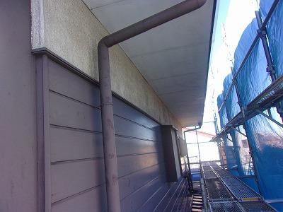 さいたま市見沼区 外壁 軒天 樋 塗装