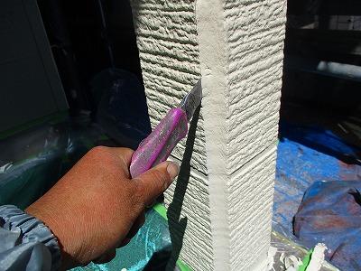 さいたま市桜区にて【シーリング】外壁工事の様子をご紹介します