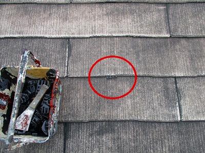 春日部市 タスペーサー 屋根塗装