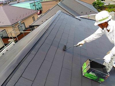 越谷市 屋根塗装