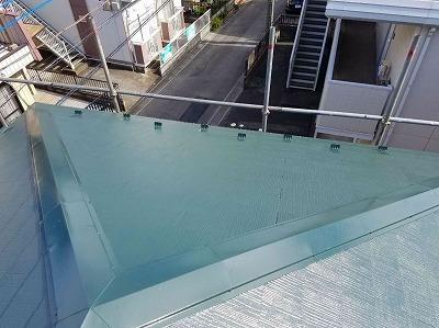 桶川市 屋根塗装前