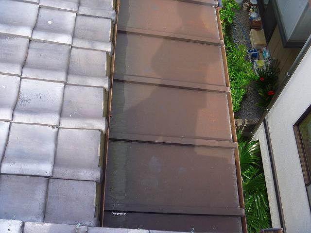埼玉県 屋根塗装完成の状態