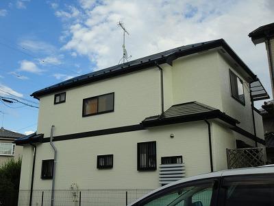ふじみ野市 外壁屋根塗装