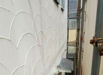 さいたま市南区 モルタル壁 施工後