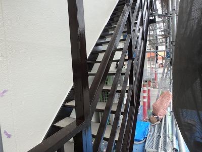 さいたま市桜区 外階段塗装