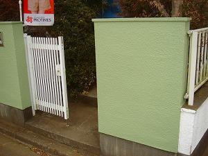 外塀 塗装 埼玉
