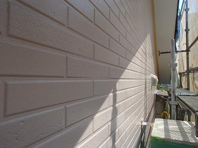 浦和区 外壁中塗り