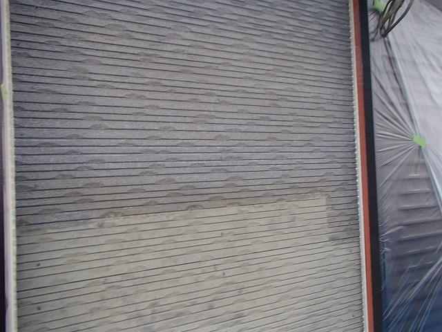 水性ミラクシーラーで下塗り塗装