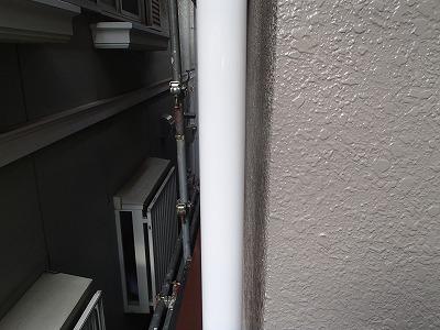 富士見市 樋 付帯塗装