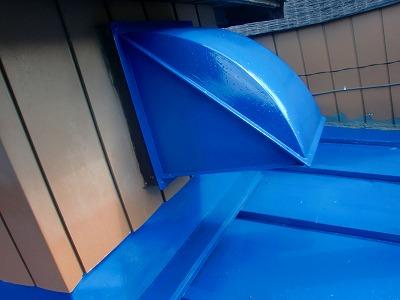 さいたま市北区 トタン屋根塗装 付帯塗装