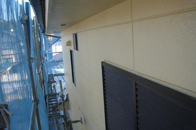 さいたま市西区 外壁塗装後 シリコンフレックス