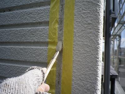さいたま市岩槻区 外壁塗装前 目地補修