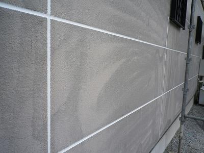 さいたま市岩槻区 外壁塗装 目地補修後