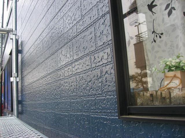外壁塗装サッシ周り補修