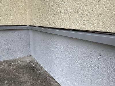 久喜市 水切り 付帯塗装