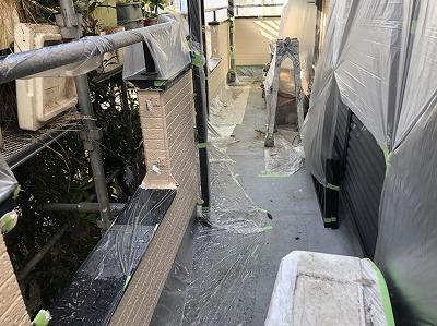 ベランダ 防水工事 上尾市