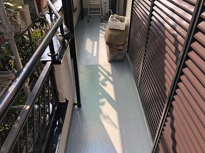 上尾市 ベランダ防水 防水工事
