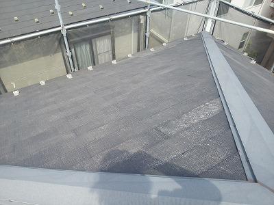 さいたま市岩槻区 屋根塗装前