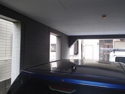 車庫内の塗装