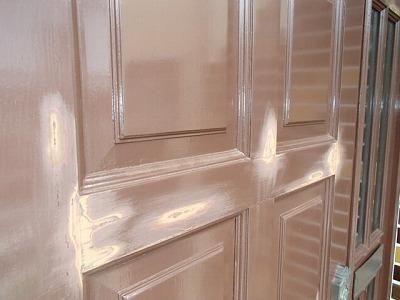 鴻巣市 ドア塗装 フッ素系塗料