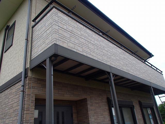 サイディング外壁材貼り替え完成
