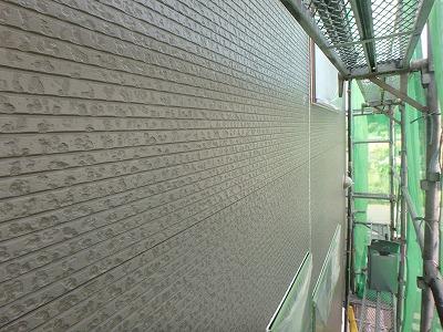 外壁塗装 完成前