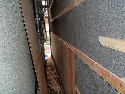 さいたま市 外壁の張替え作業