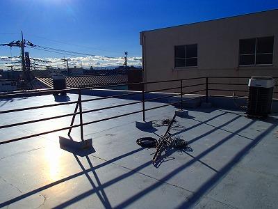 塗装前 屋上