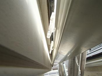 戸田市で雨樋の金具外れで【雨樋工事】 火災保険使用
