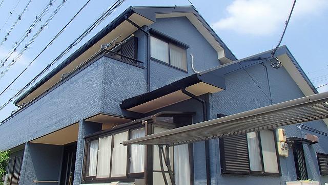 外壁塗装行った後の家の状態