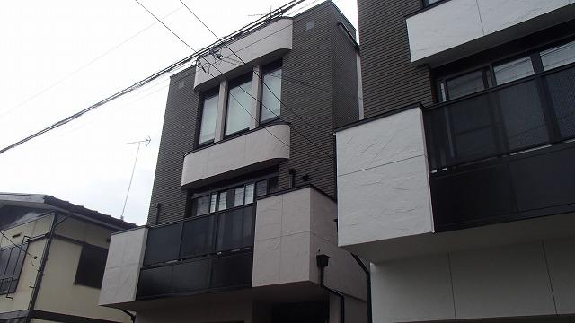 外壁塗装が完了した全体の状態