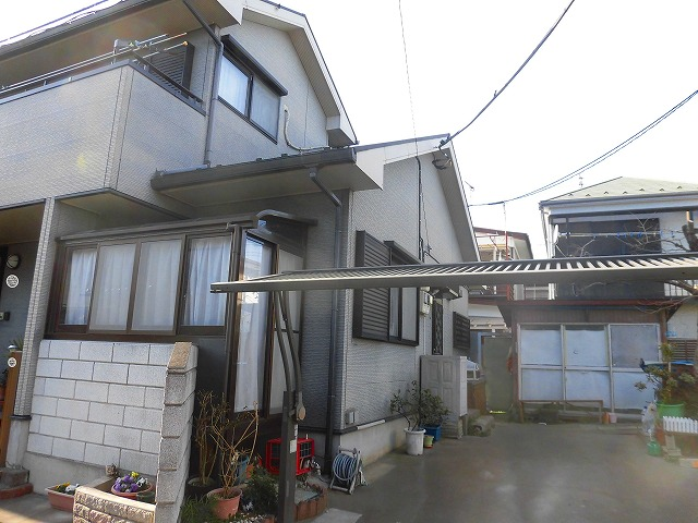 外壁塗装行う前の家の状態