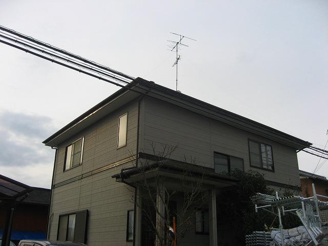 施工前の一軒家塗装 久喜市