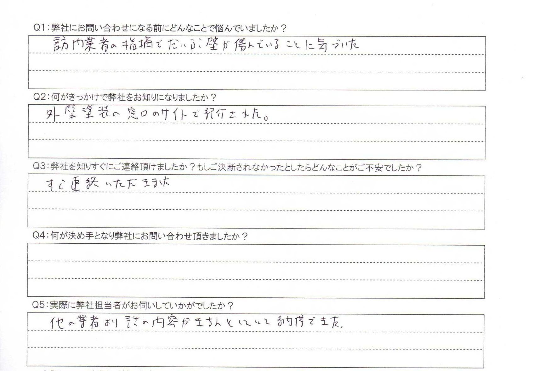 埼玉外壁口コミ