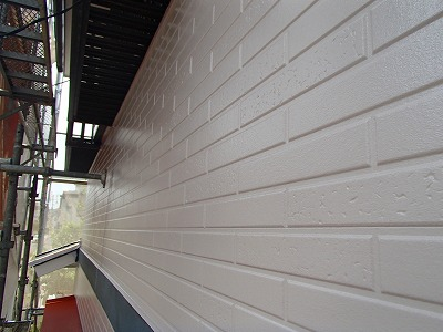 浦和区 外壁上塗り